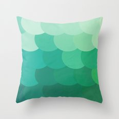 if i'm lost at sea Throw Pillow