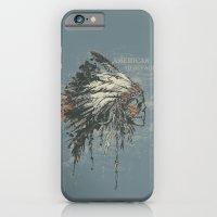 iPhone & iPod Case featuring American Heritage (Dark) by Ruxi Li