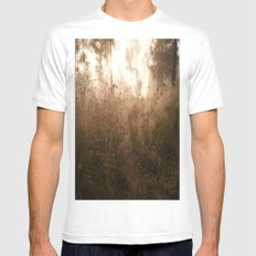 Fantasy forest White SMALL Mens Fitted Tee