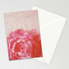 pink milk Stationery Cards