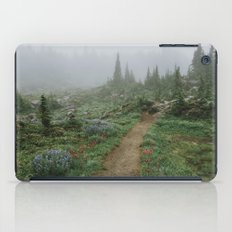 Washington Wildflower Fog iPad Case