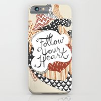 iPhone & iPod Case featuring Follow Your Heart by Emily Swedberg (Ito Inez)