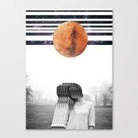 delicate extravaganza Canvas Print