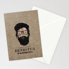 Heebster—We take our Hebrew vintage. Stationery Cards