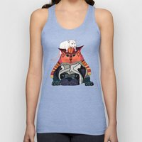 mouse cat pug chocolate Unisex Tank Top