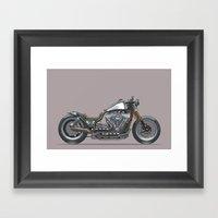 Custom Cruiser 01 Framed Art Print