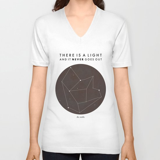 There Is A Light V-neck T-shirt