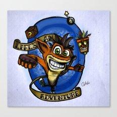 Life's an Adventure Canvas Print