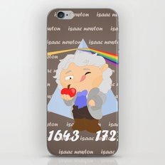 Isaac Newton iPhone & iPod Skin