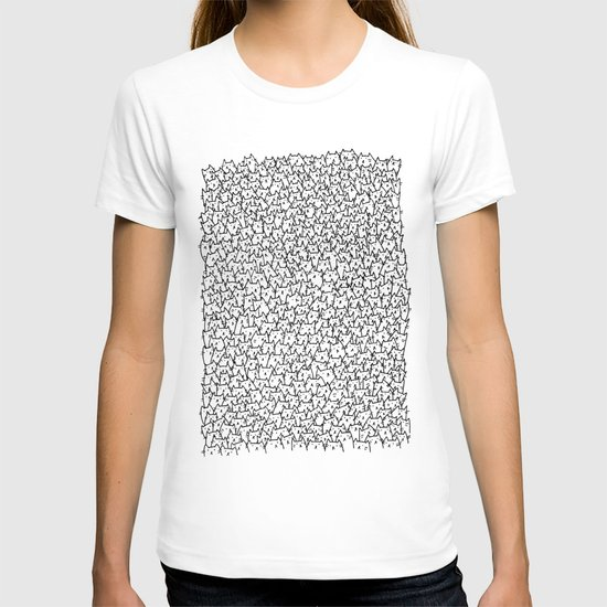A Lot of Cats T-shirt