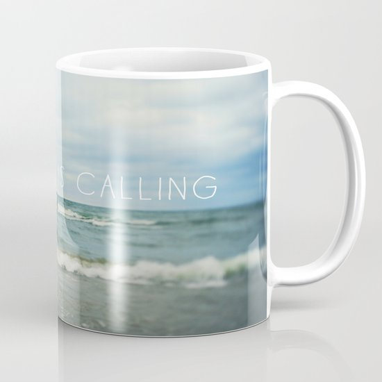 Adventure is Calling - Waves Mug