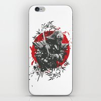 Black Samurai iPhone & iPod Skin