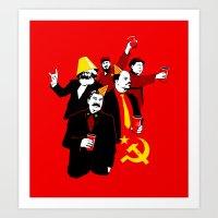 The Communist Party (variant) Art Print