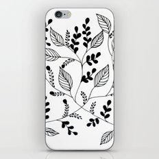 Flower pattern #1 iPhone & iPod Skin