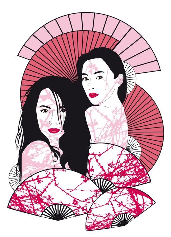Les Femmes de l'est Art Print