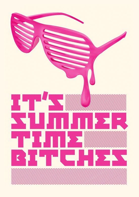 Summer Time. Art Print