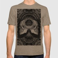 3:33 - Bicameral Brain 02 Mens Fitted Tee Tri-Coffee SMALL