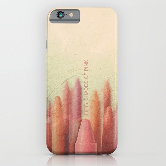 Crayon Love: Fifty Shades of Pink iPhone & iPod Case