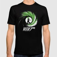The Name's Who Mens Fitted Tee Black SMALL
