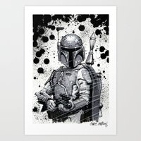 Boba Fett: Bounty Hunter Art Print