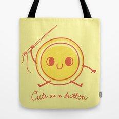 Cute as a button! Tote Bag