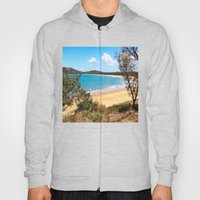 Idyllic tropical beach Hoody