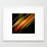 Its Just Traffic Framed Art Print