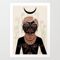 AG - Indian Man Art Print