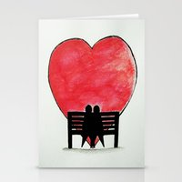 You and Me, Always Stationery Cards