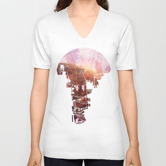 Secret Streets V-neck T-shirt