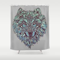 Wolf (Lone) Shower Curtain