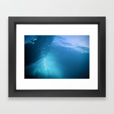 Under The Barrel Framed Art Print