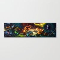 -I Want to be the Very Best Canvas Print