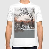 Tranquility Mens Fitted Tee White SMALL