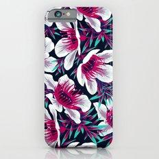 Manuka Floral Print -  Light iPhone 6 Slim Case