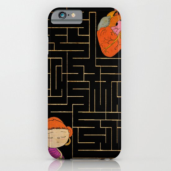 labyrinth iPhone & iPod Case