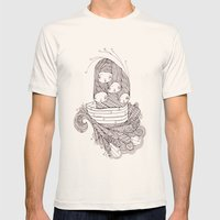 ship of fools Mens Fitted Tee Natural SMALL