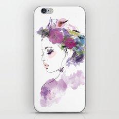 Like a bird iPhone & iPod Skin