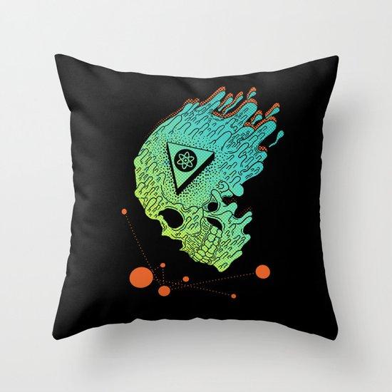 Child of Atom Throw Pillow