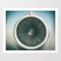 Engine Air Art Print
