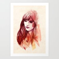 A Piece Of Happiness Art Print