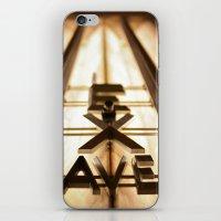 Lex Ave iPhone & iPod Skin