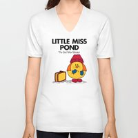 Little Miss Pond Unisex V-Neck