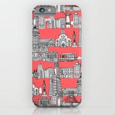San Francisco coral iPhone 6s Slim Case