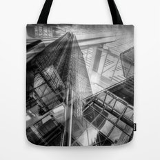 Canary Wharf Tower Abstracts Tote Bag