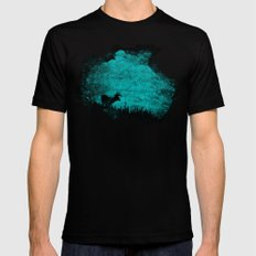 Patronus in a Dream SMALL Black Mens Fitted Tee