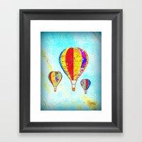 Beautiful Balloons Mosai… Framed Art Print
