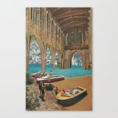 place of worship (with david delruelle) Canvas Print