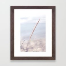 A day at the beach Framed Art Print