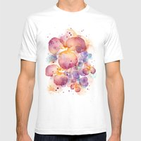Dissolve Mens Fitted Tee White SMALL